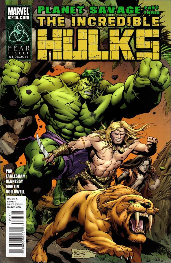 Incredible Hulks 625-A by Marvel