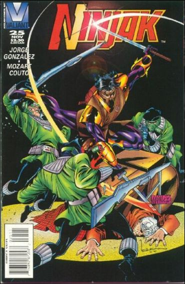 Ninjak (1994) 25-A by Valiant