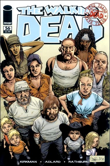 Walking Dead (2003) 56-A by Image