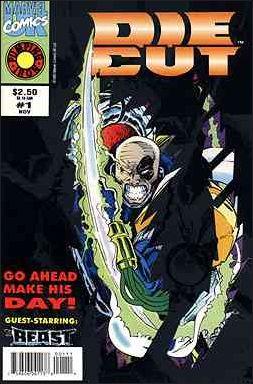 Die-Cut (UK) 1-A by Marvel UK