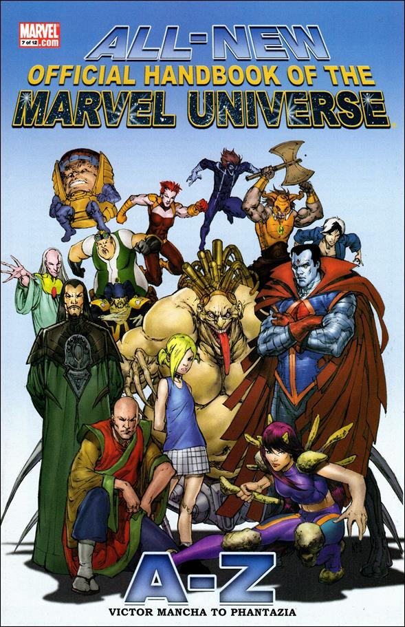 All-New Official Handbook of the Marvel Universe A to Z 7-A by Marvel