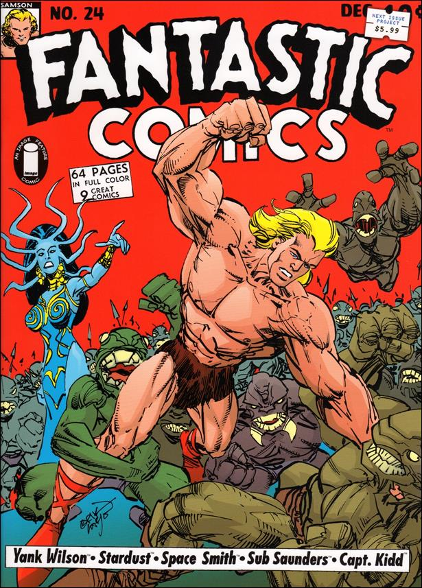 Fantastic Comics (2008) 24-A by Image