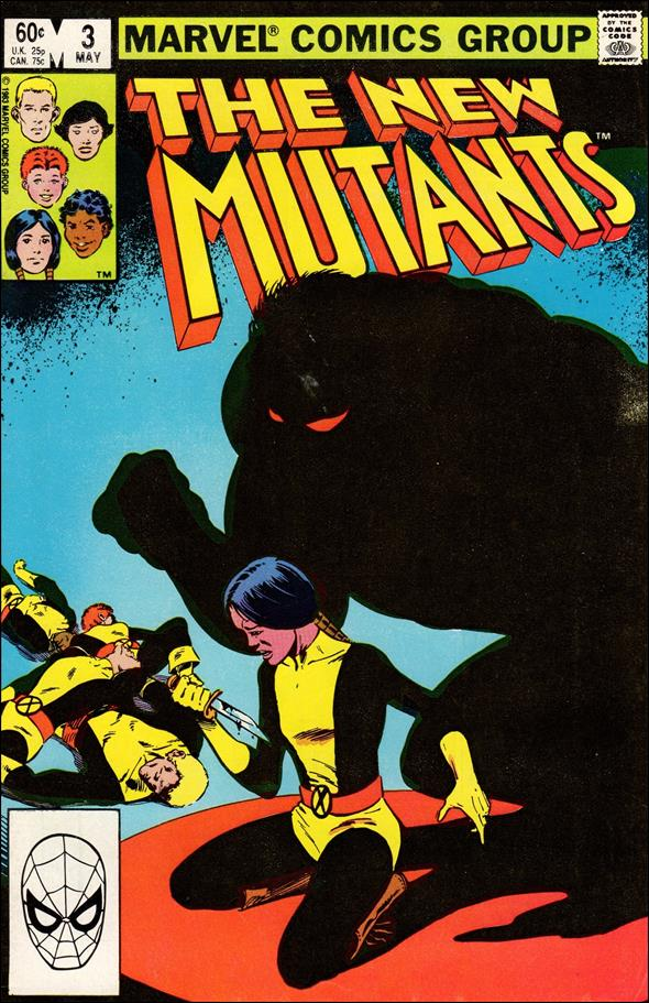 New Mutants (1983) 3-A by Marvel