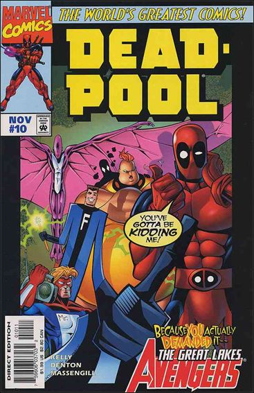 Deadpool (1997) 10-A by Marvel