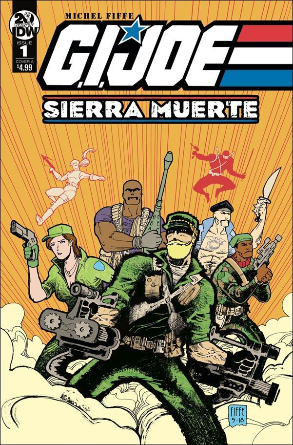 G.I. Joe: Sierra Muerte 1-A by IDW