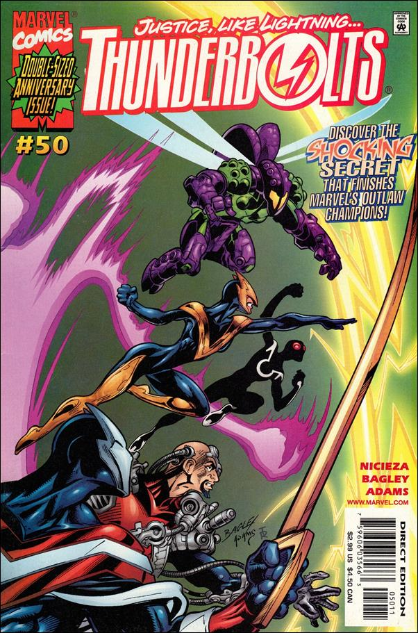 Thunderbolts (1997) 50-A by Marvel