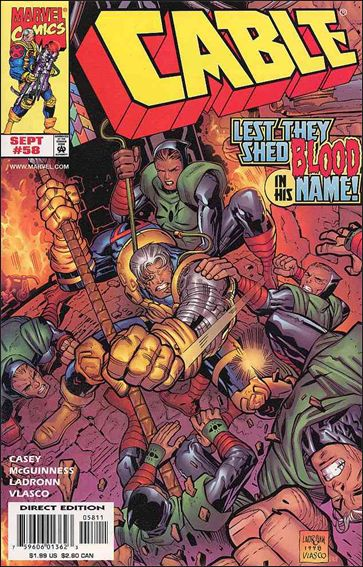 Cable (1993) 58-A by Marvel