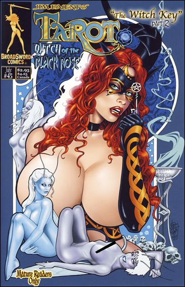 Tarot: Witch of the Black Rose 45-A by BroadSword Comics