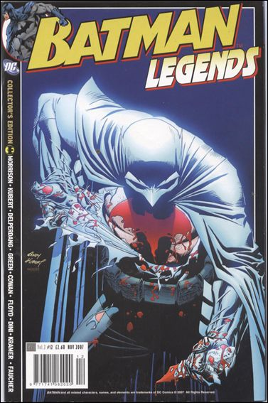 Batman Legends (UK) (2007) 12-A by Titan Magazines