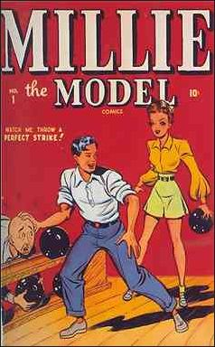 Millie the Model Comics 1-A by Marvel