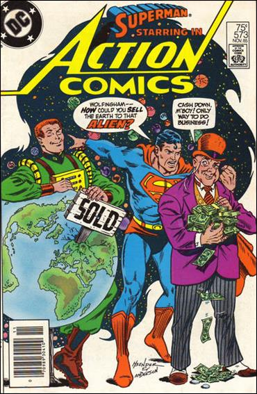 Action Comics (1938) 573-A by DC
