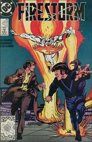 Firestorm The Nuclear Man (1987) 84-A