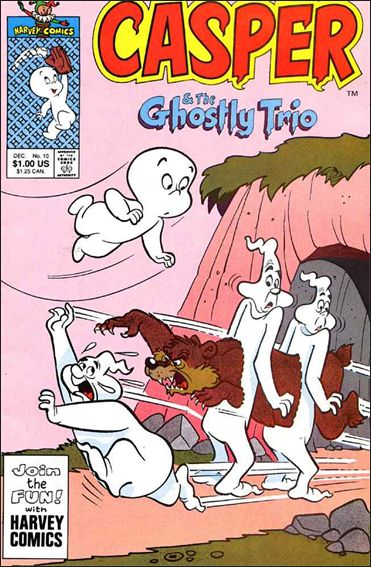 Casper and the Ghostly Trio 10-A by Harvey