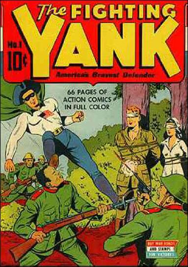 Fighting Yank (1942) 1-A by Nedor