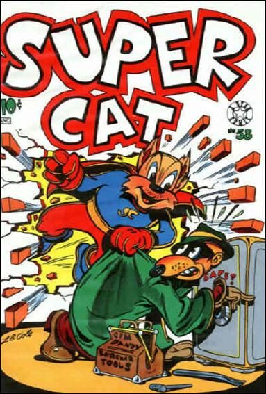 Super Cat (1953) 58-A by Star Publications
