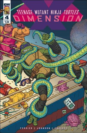 Teenage Mutant Ninja Turtles: Dimension X 4-A