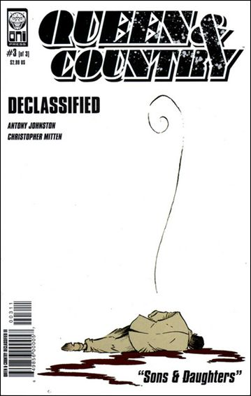 Queen & Country: Declassified (2005/06) 3-A by Oni Press