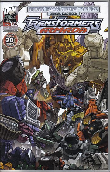 More Than Meets The Eye: Transformers Armada 3-A by Dreamwave