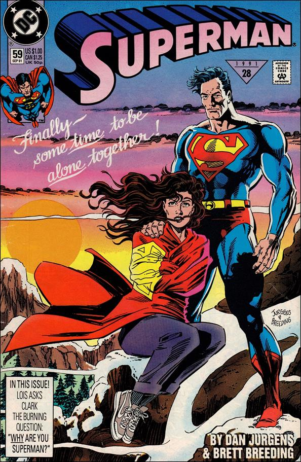 Superman (1987) 59-A by DC