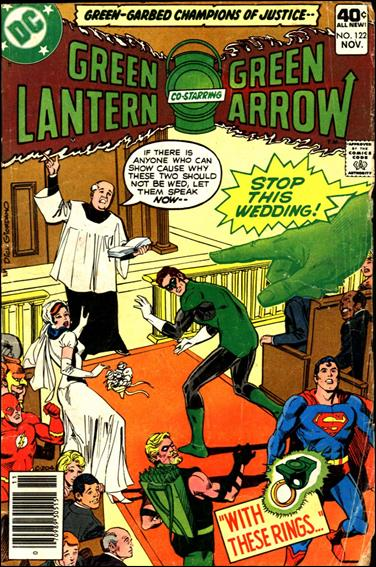 Green Lantern (1960) 122-A by DC