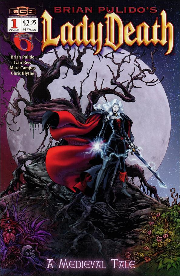 Brian Pulido's Lady Death: A Medieval Tale 1-A by CrossGen