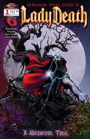 Brian Pulido's Lady Death: A Medieval Tale 1-A