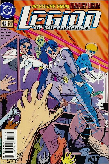 Legion of Super-Heroes (1989) 65-A by DC