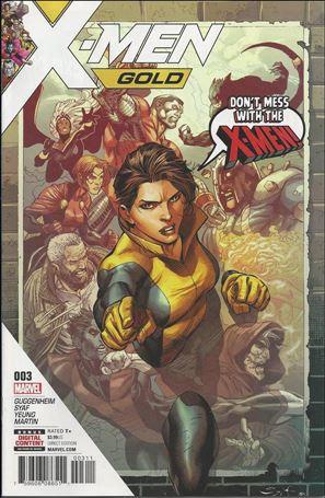 X-Men: Gold (2017) 3-A