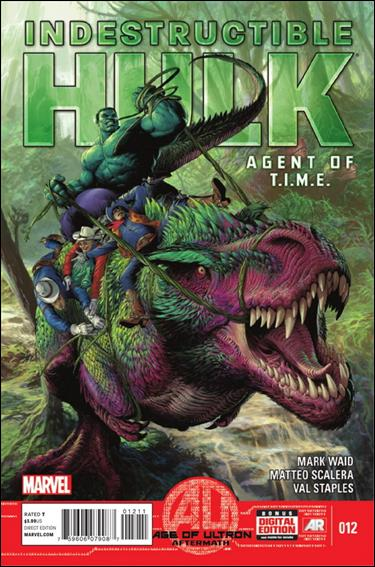 Indestructible Hulk 12-A by Marvel