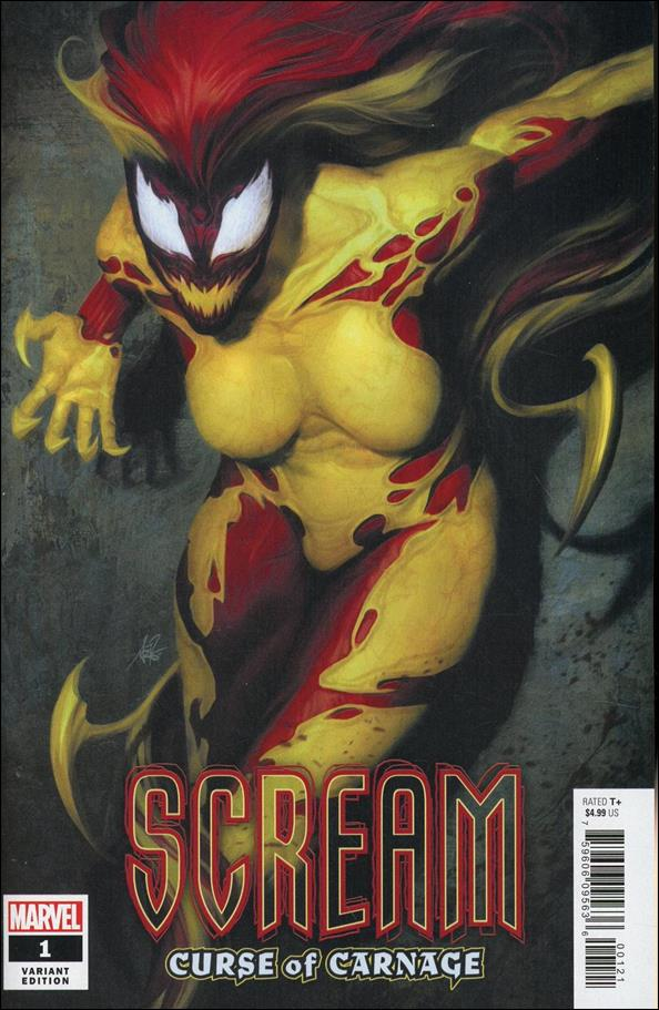 Scream: Curse of Carnage 1-C by Marvel