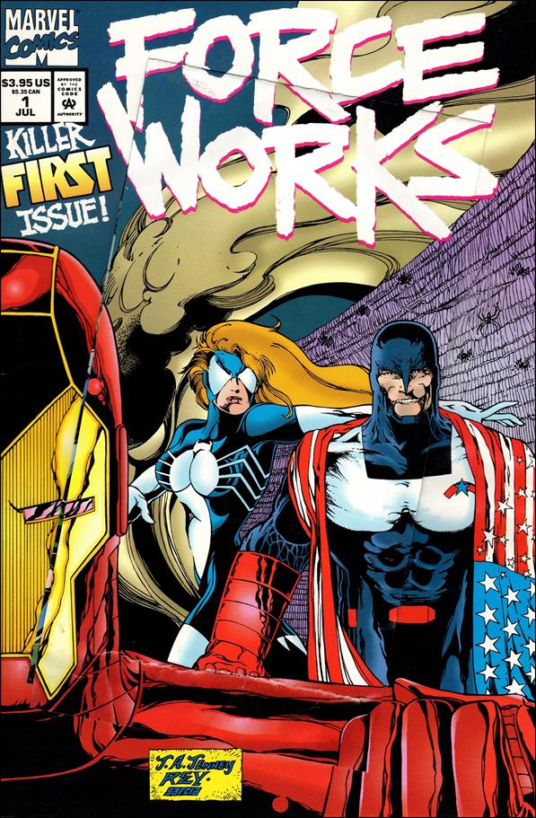 Force Works 1-A by Marvel