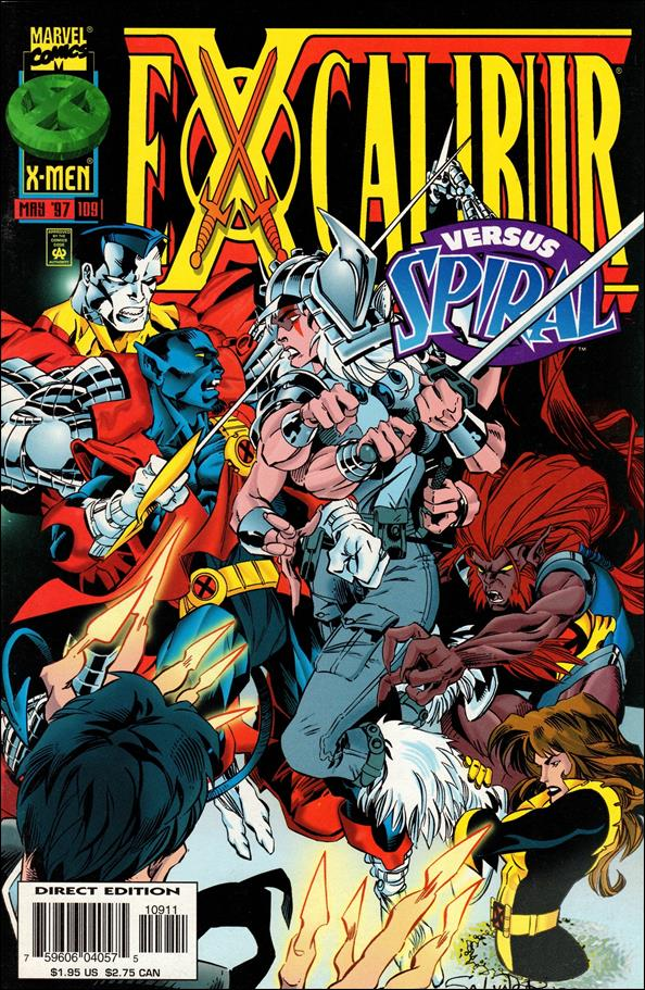 Excalibur (1988) 109-A by Marvel