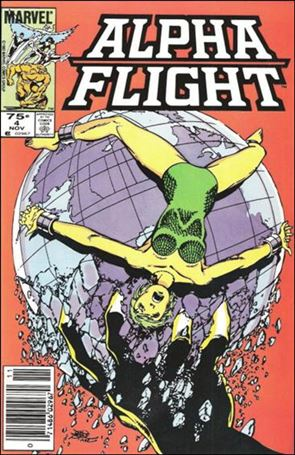 Alpha Flight (1983) 4-B