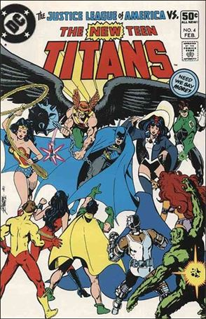 New Teen Titans (1980) 4-A