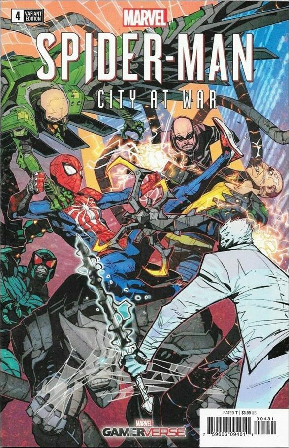 Spider-Man: City at War 4-B by Marvel