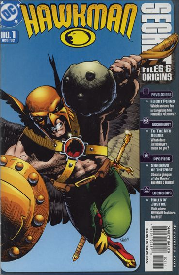 Hawkman Secret Files and Origins 1-A by DC