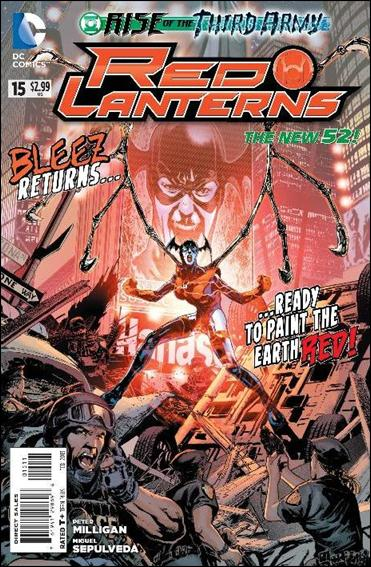 Red Lanterns 15-A by DC