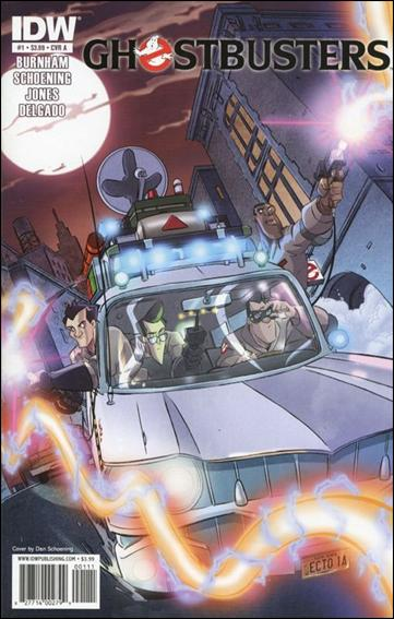 Ghostbusters (2011) 1-A by IDW