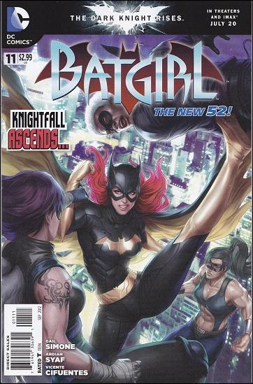 Batgirl (2011) 11-A by DC