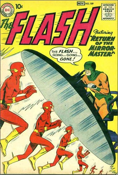 Flash (1959) 109-A by DC