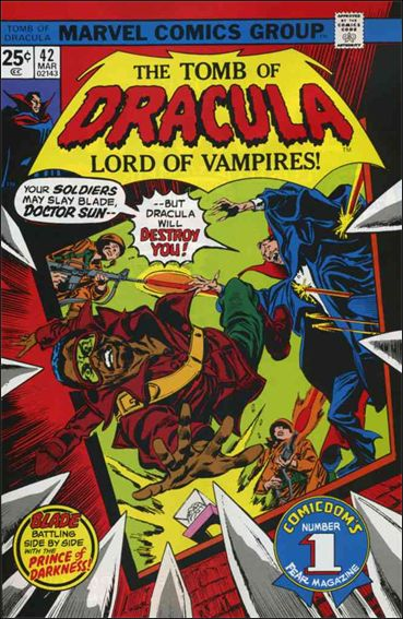 Tomb of Dracula (1972) 42-A by Marvel