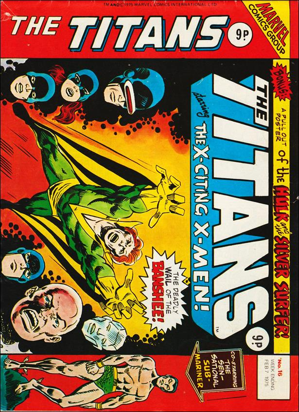 Titans (UK) 16-A by Marvel UK