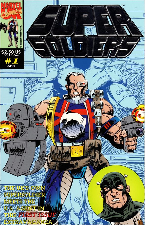 Supersoldiers (UK) 1-A by Marvel UK