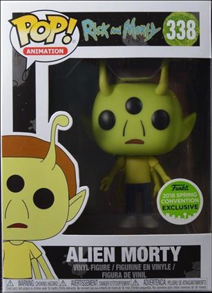 POP! Animation Alien Morty 2018 Spring Convention Exclusive