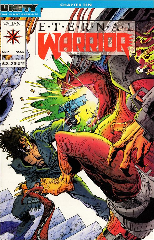 Eternal Warrior (1992) 2-A by Valiant