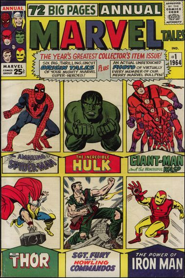 Marvel Tales Annual 1-A by Marvel