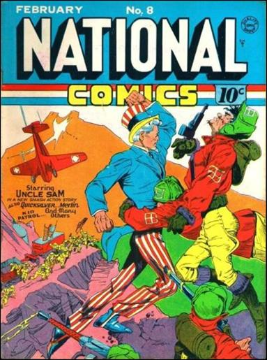 National Comics (1940) 8-A by Quality
