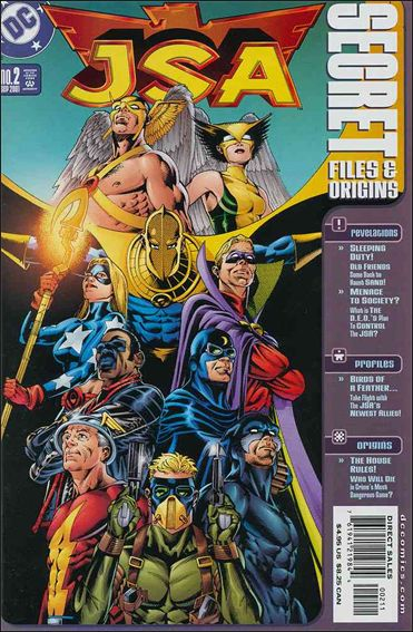 JSA: Secret Files and Origins 2-A by DC