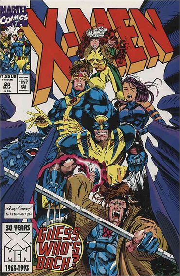 X-Men (1991) 20-A by Marvel