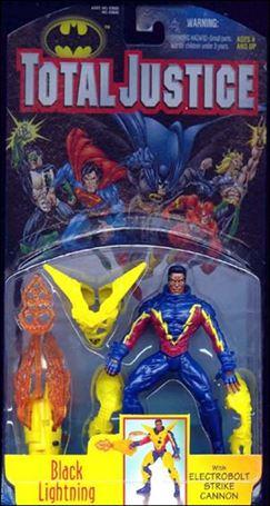 Total Justice Black Lightning (Electrobolt Strike Cannon)